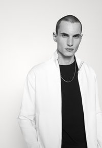Emporio Armani - Zip-up sweatshirt - white - 4