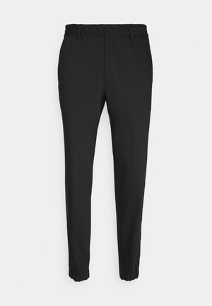 TROUSERS CHASE - Pantaloni - black