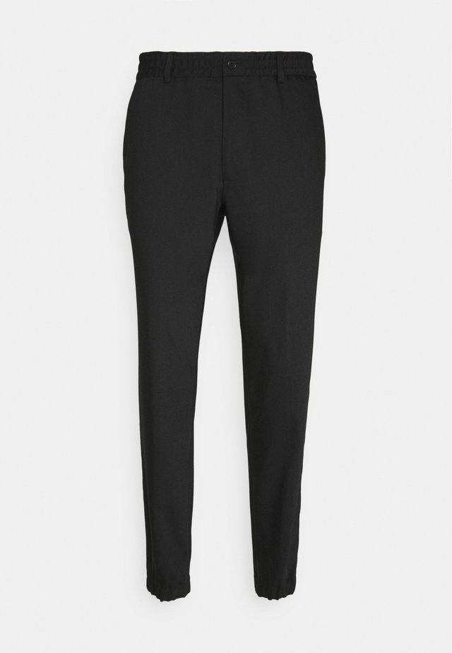 TROUSERS CHASE - Trousers - black