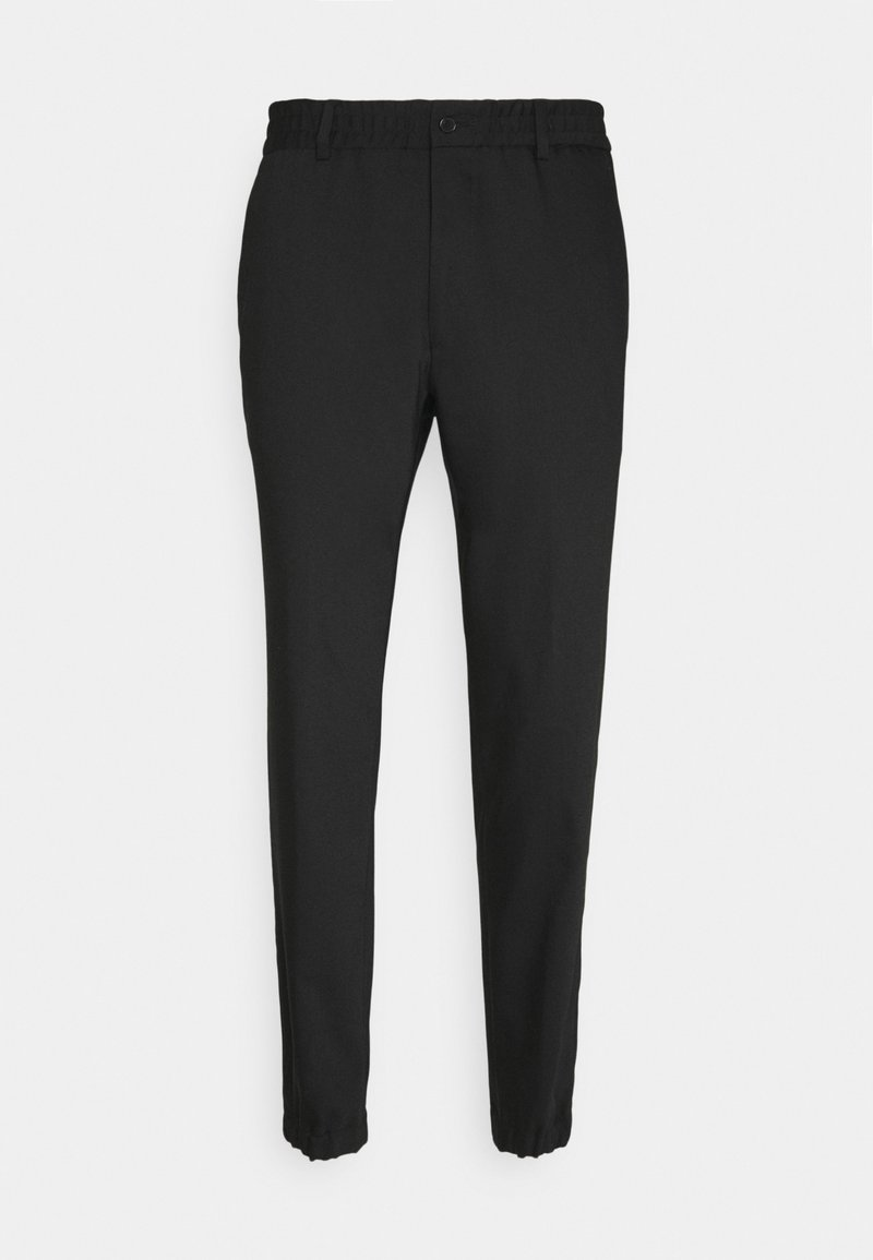 KARL LAGERFELD - TROUSERS CHASE - Pantalones - black