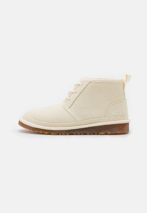 NEUMEL - Lace-up ankle boots - natural