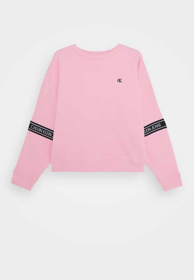 LOGO TAPE  - Collegepaita - pink