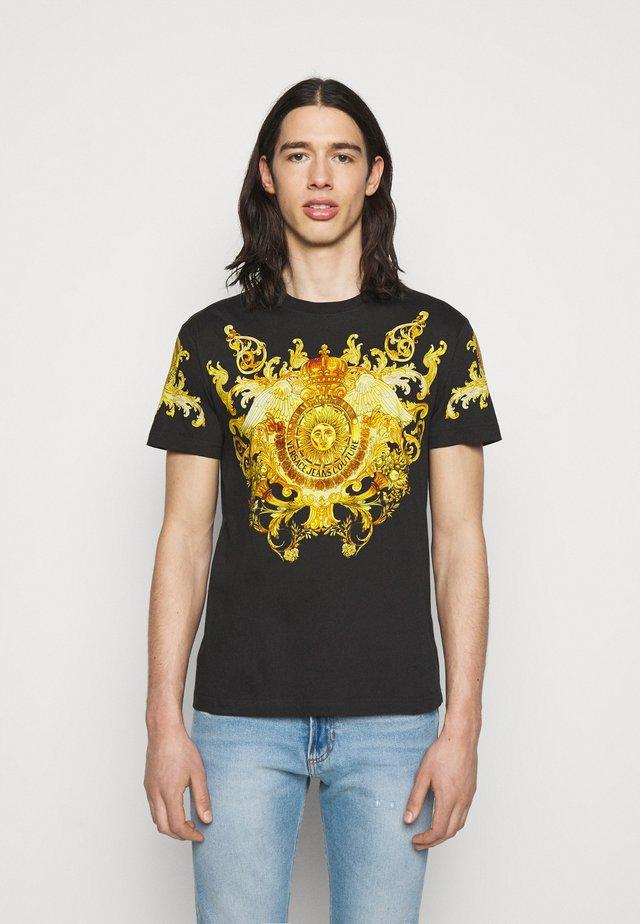 GOLD BAROQUE - T-shirts print - black