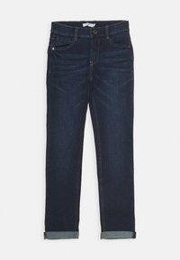 Name it - NKMTHEO PANT - Slim fit jeans - dark blue denim - 0
