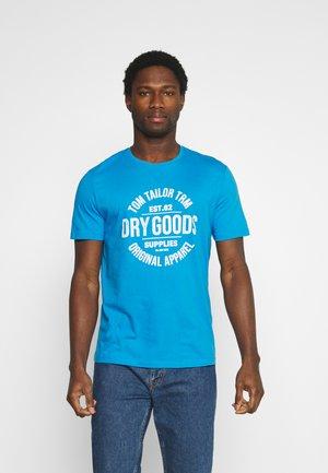 T-shirt imprimé - bright ibiza blue
