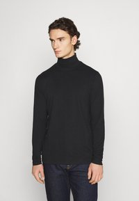 Anerkjendt - AKKOMET - Long sleeved top - caviar - 0