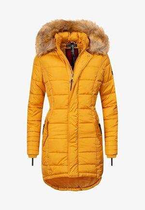 PAPAYA - Winter coat - yellow