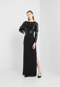 Lauren Ralph Lauren - CLASSIC GOWN  - Vestido de fiesta - black - 1