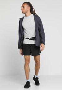 Nike Performance - CHALLENGER SHORT - Sports shorts - black/silver - 1