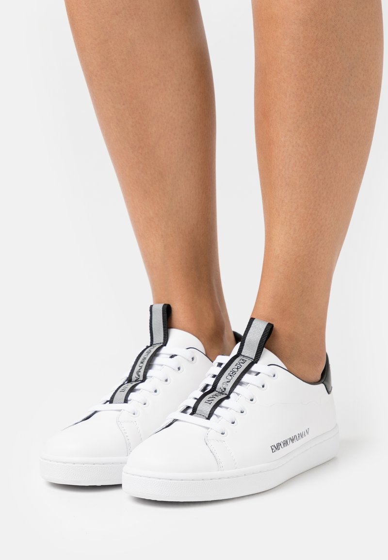 Emporio Armani - Tenisky - white/black