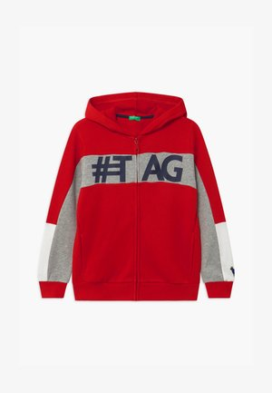 ONLINE BOY - Zip-up hoodie - red