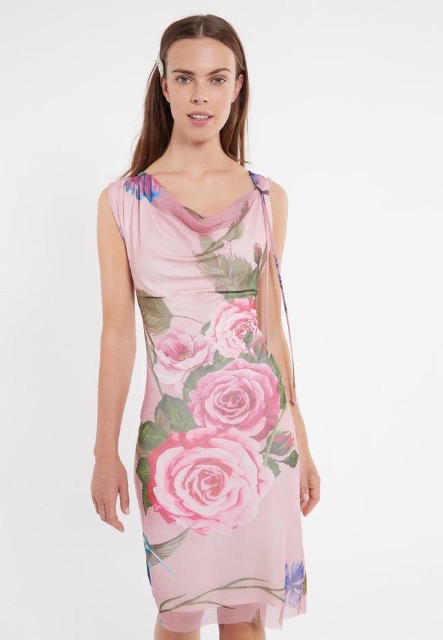 ZIETY - Shift dress - pink