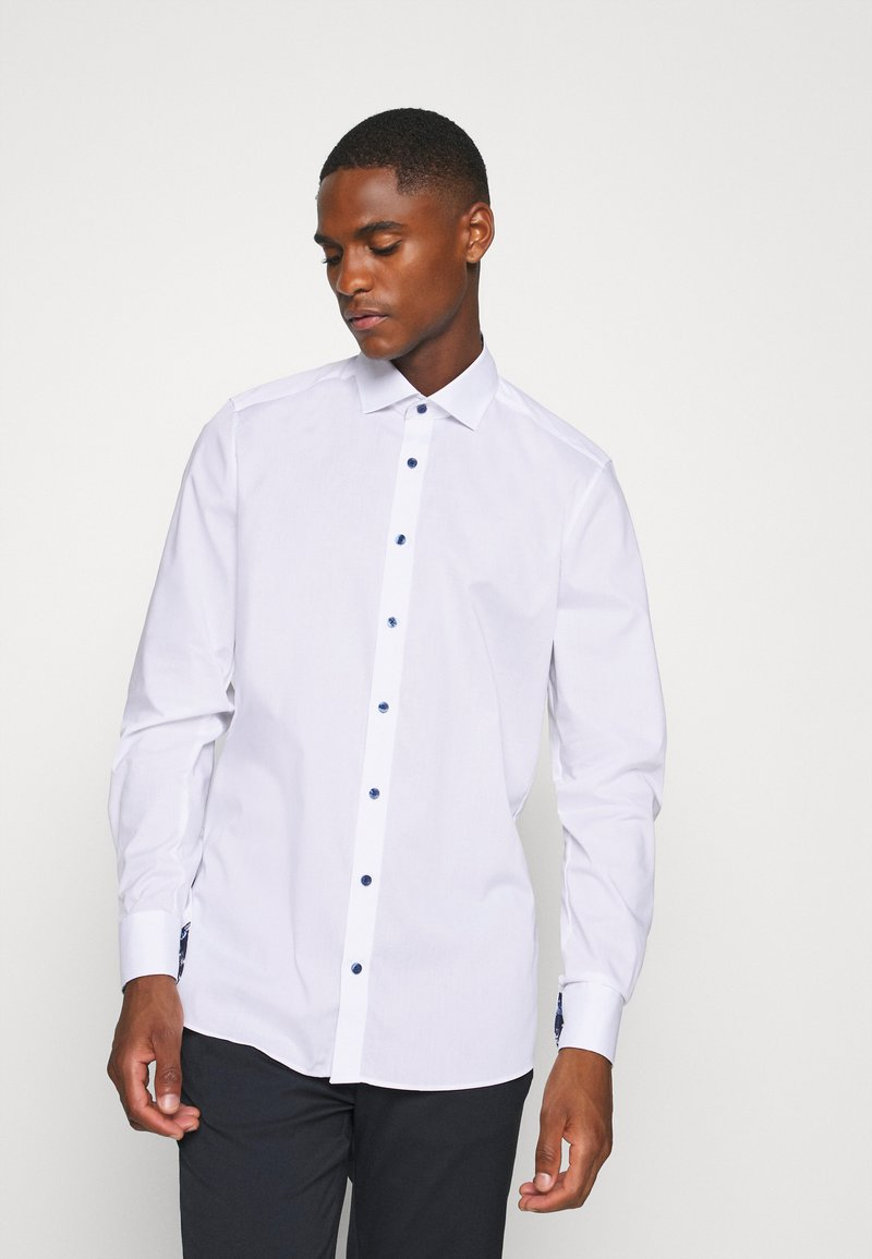 OLYMP - OLYMP LEVEL 5 BODY FIT  - Camicia elegante - weiss