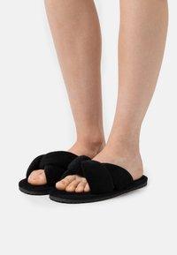 L37 - SWEET HOME - Slippers - black - 0