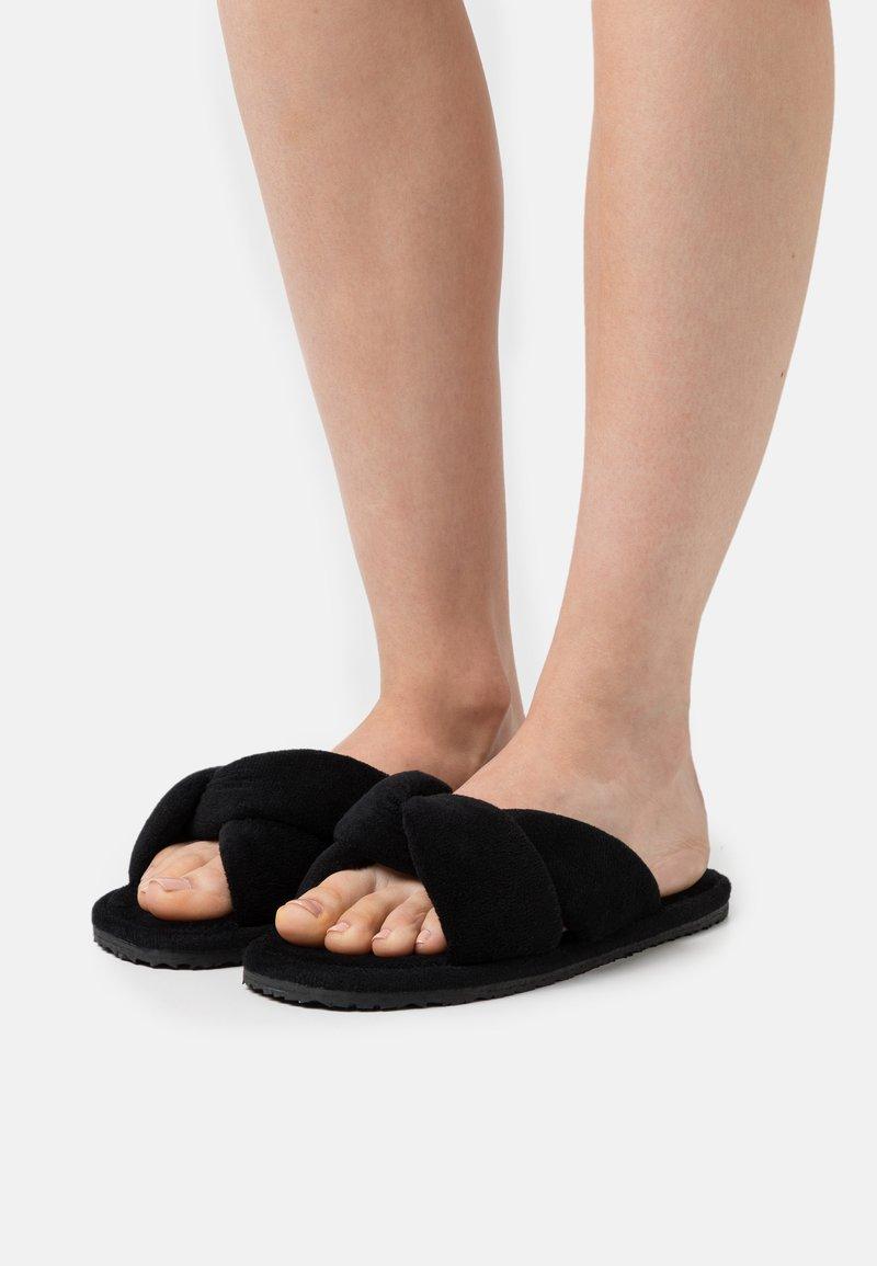 L37 - SWEET HOME - Slippers - black