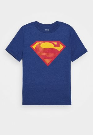 BOY SHIELD TEE - Print T-shirt - brilliant blue