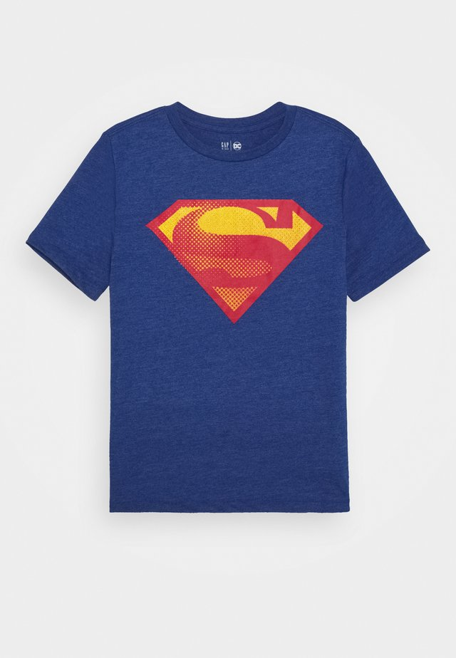 BOY SHIELD TEE - T-shirt con stampa - brilliant blue
