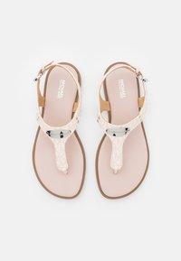 MICHAEL Michael Kors - PLATE THONG - Sandály s odděleným palcem - soft pink - 4