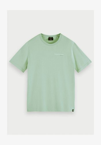 Print T-shirt - seafoam