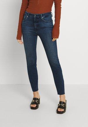 LEGS CROP RAW HEM - Jeans Skinny Fit - blue