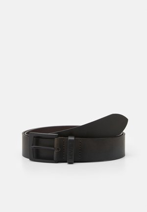 HEBRON METAL - Belt - dark brown