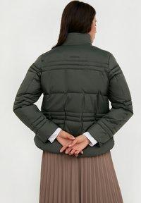Finn Flare - Winter jacket - dark green - 2
