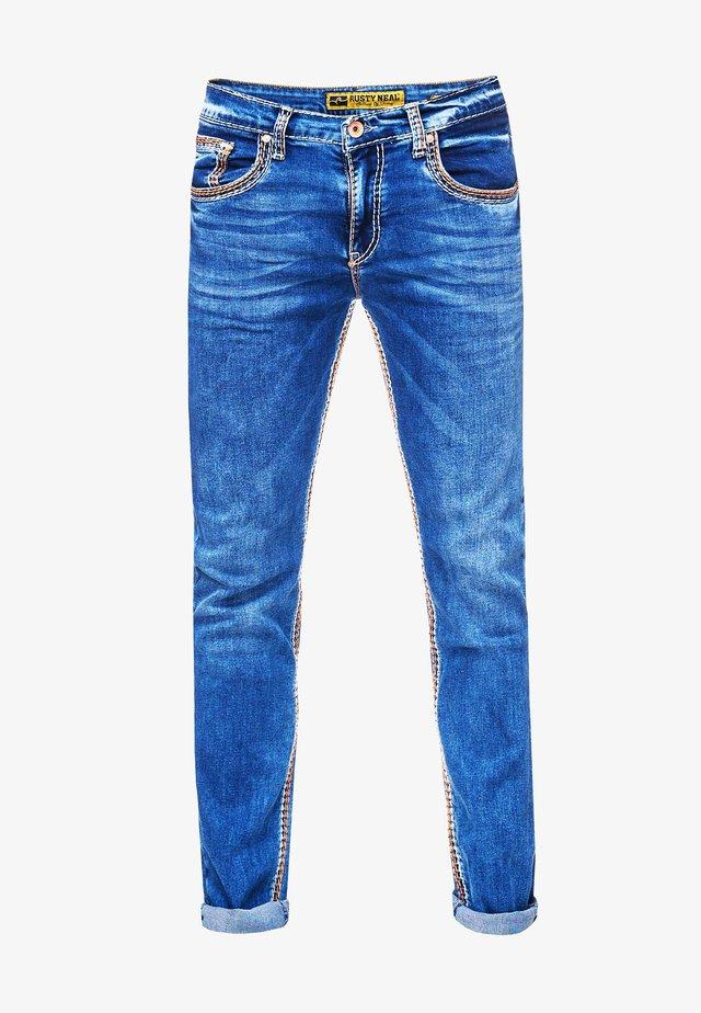 LEVIN 1 - Slim fit jeans - blau