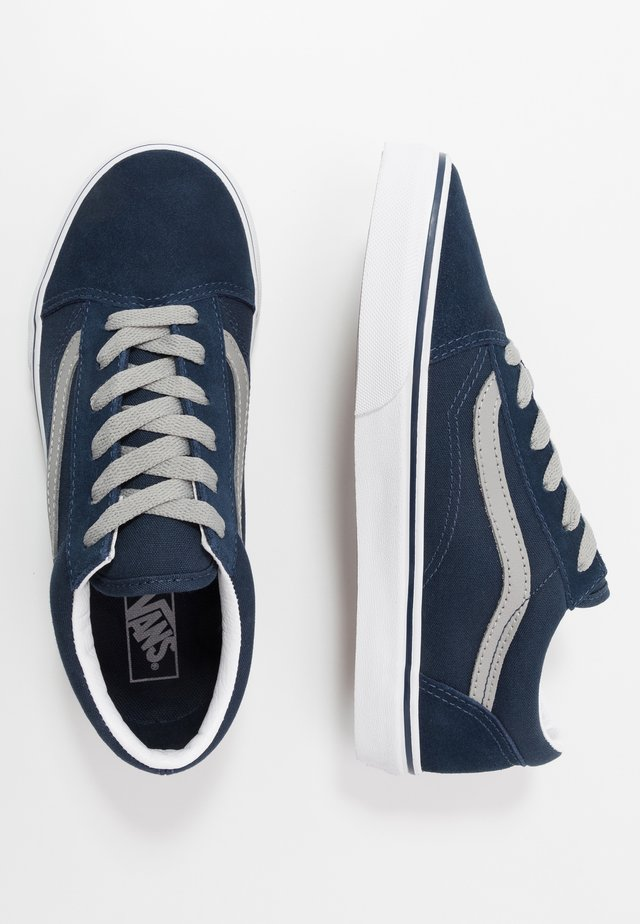 OLD SKOOL - Joggesko - dress blues/drizzle