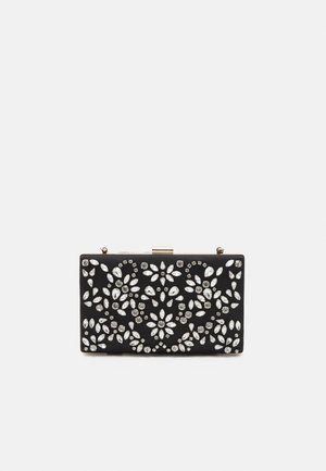 CLARICE EMBELLISHED RECTANGLE - Pikkulaukku - black