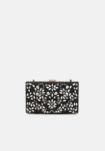 CLARICE EMBELLISHED RECTANGLE - Clutch - black