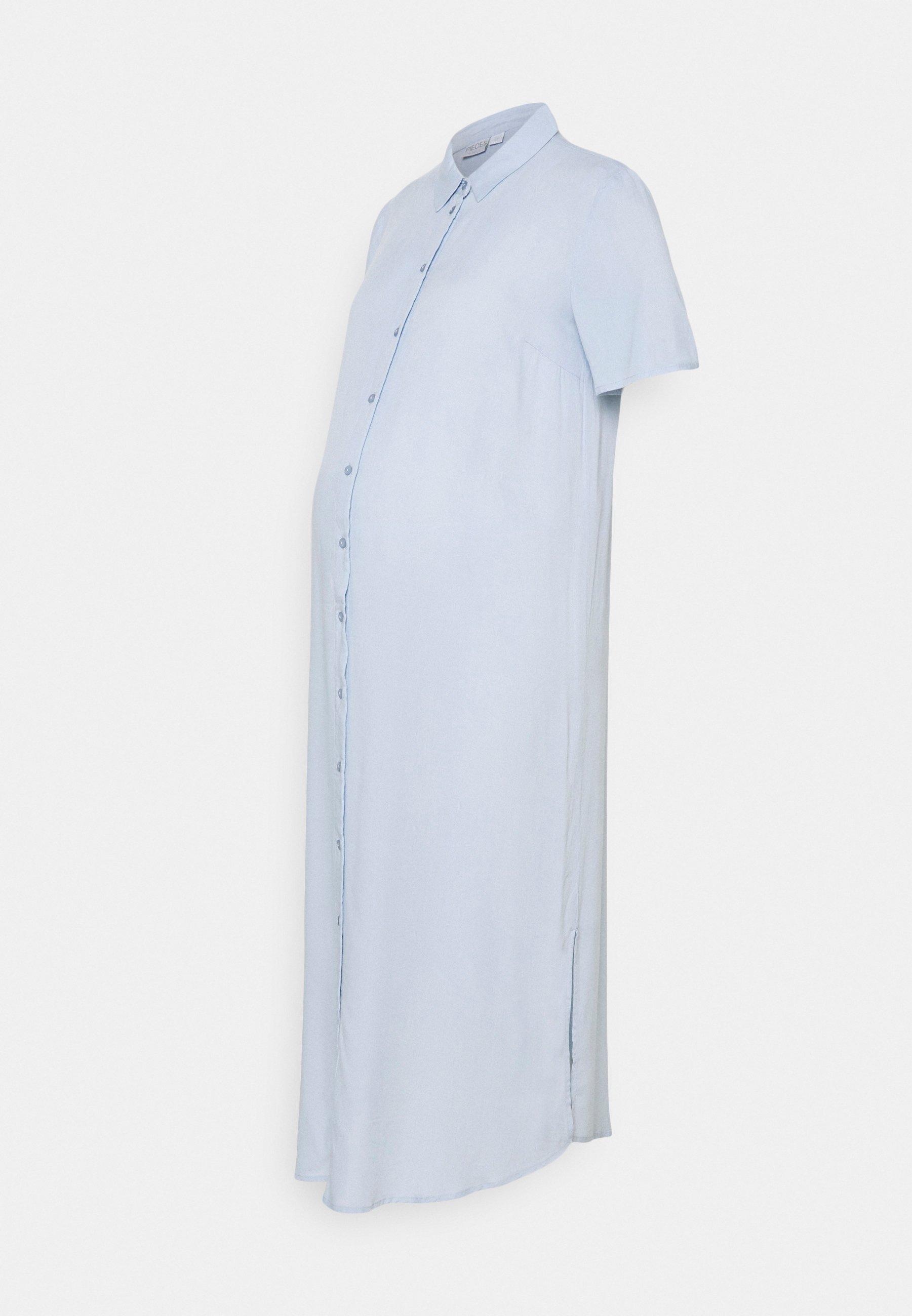 Mujer PCMCAMILA SHIRT DRESS - Vestido camisero