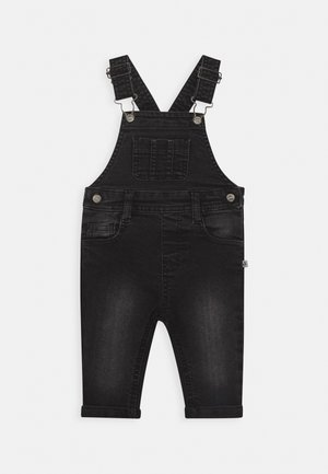 LUMBERJACK - Latzhose - black denim