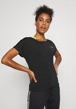 ONPADELIA TEE - Camiseta estampada - black