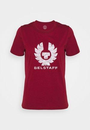 MARIOLA PHOENIX - T-shirt print - biking red/vapour white