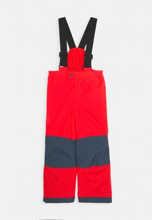 KIDS SNOW CUP PANTS III - Snow pants - mars red