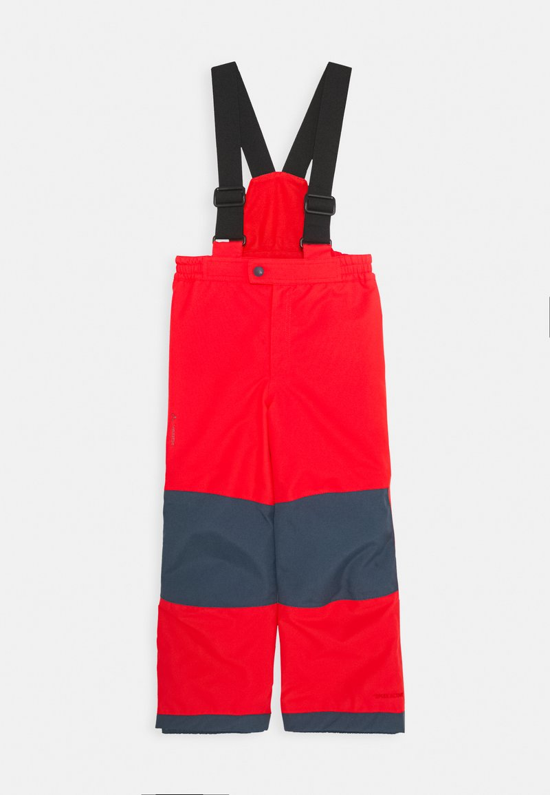 Vaude - KIDS SNOW CUP PANTS III - Snow pants - mars red