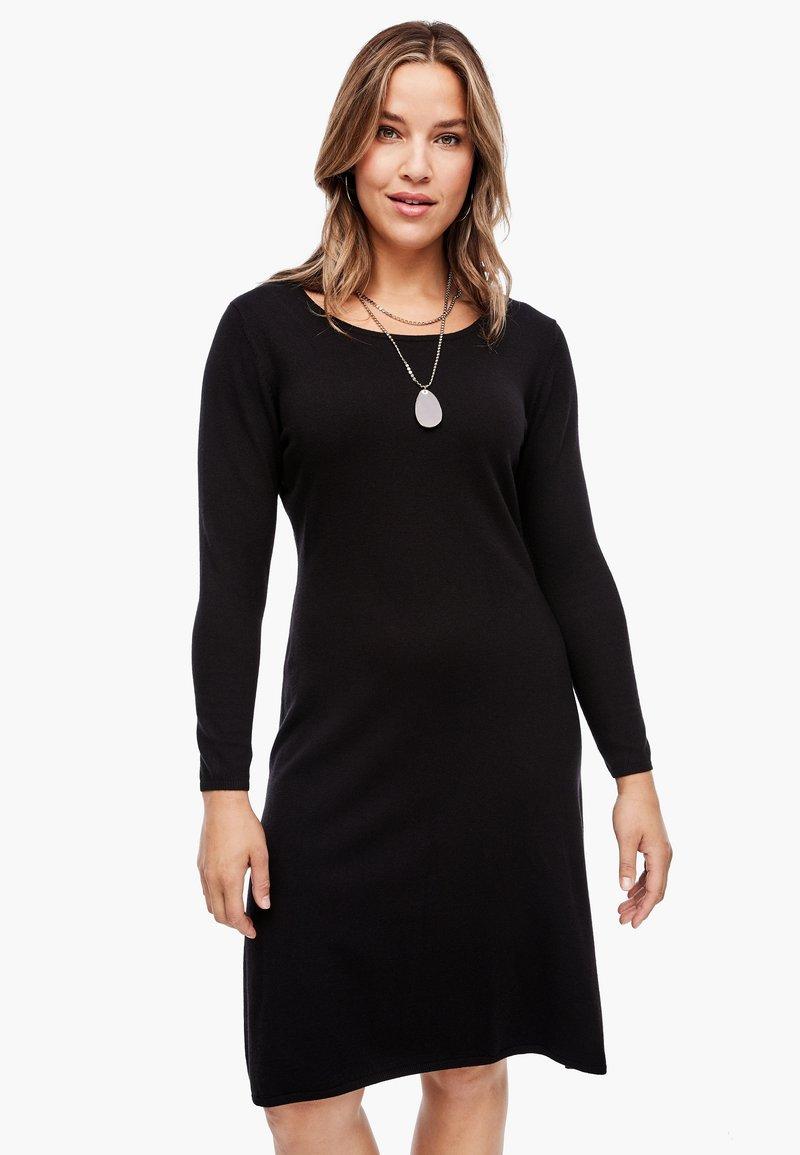 Triangle - Jumper dress - black