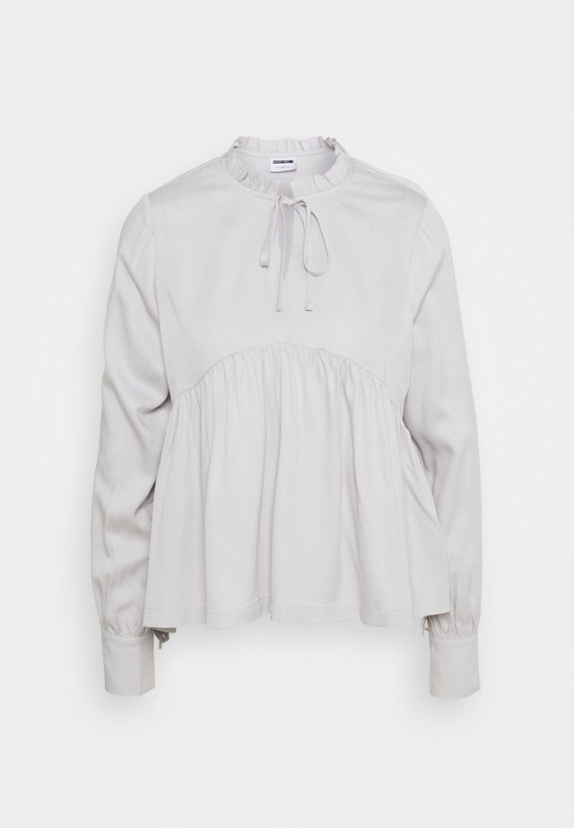 NMAYTA FLARE - Long sleeved top - chateau gray