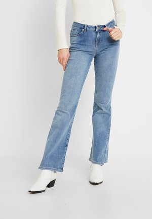 SLFCHLOE - Jeansy Dzwony - medium blue denim