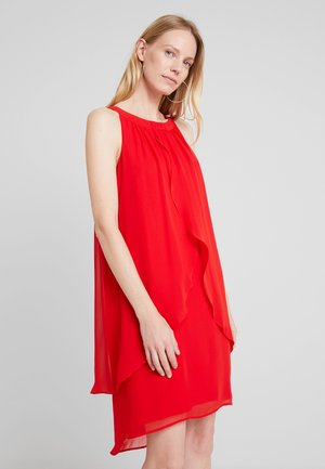 KURZ - Cocktail dress / Party dress - flamed red