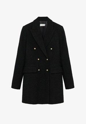 PARIS - Classic coat - noir