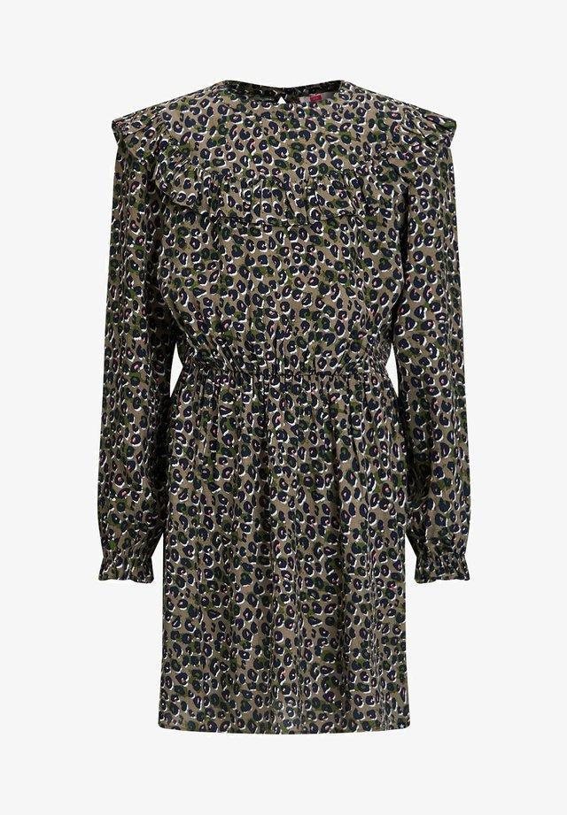 EN RUFFELS - Korte jurk - all-over print