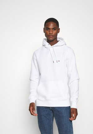 BASIC FLAG HOODY - Sweat à capuche - white