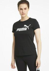 Puma - T-shirt imprimé - puma black - 0