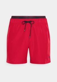 Tommy Hilfiger - LOGOLINE MEDIUM DRAWSTRING - Swimming shorts - red - 5