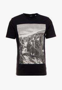 Only & Sons - ONSBROCK  - T-Shirt print - black - 3