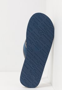 TOM TAILOR - T-bar sandals - blue denim - 4