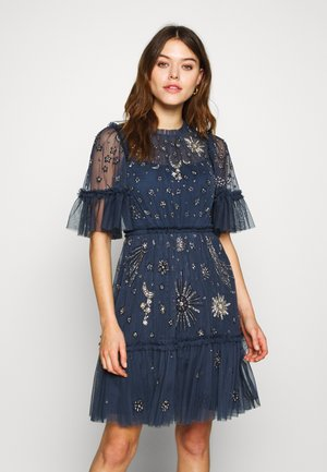 ETHER MINI DRESS - Cocktailklänning - midnight