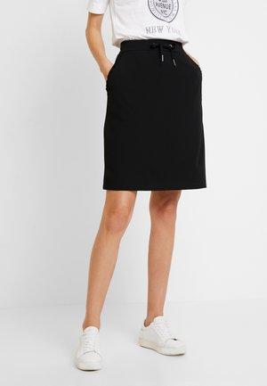 SIHAM - A-line skirt - black