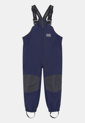 PELMO ALL WEATHER UNISEX - Rain trousers - dark navy